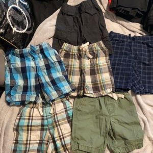 6 Pairs of 4T Boys Summer Shorts Variety